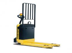 Pallet jack rental self propelled 6000 lbs walk behind for Motorized pallet jack rental