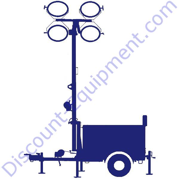 Magnum / Generac Light Tower Parts