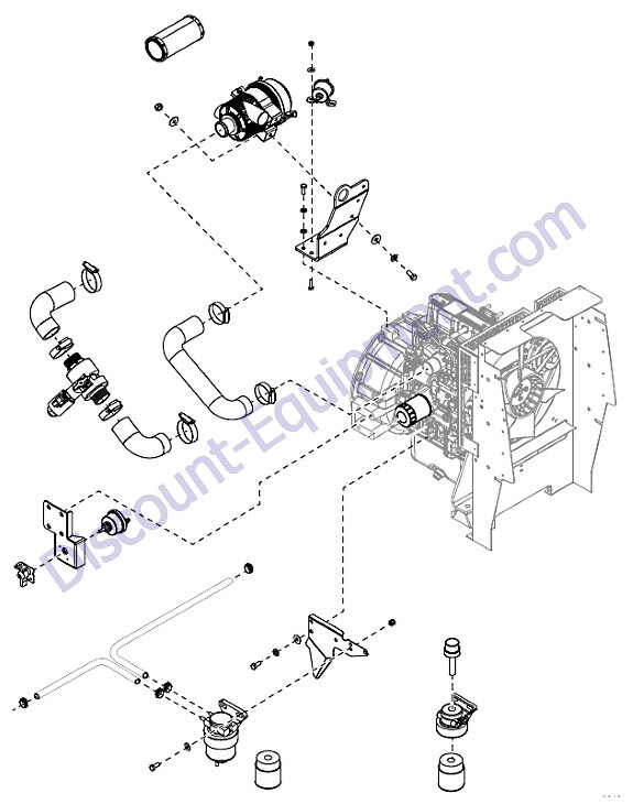 Generac Magnum MLT6SMDS Engine Assembly (2 of 2) - Discount