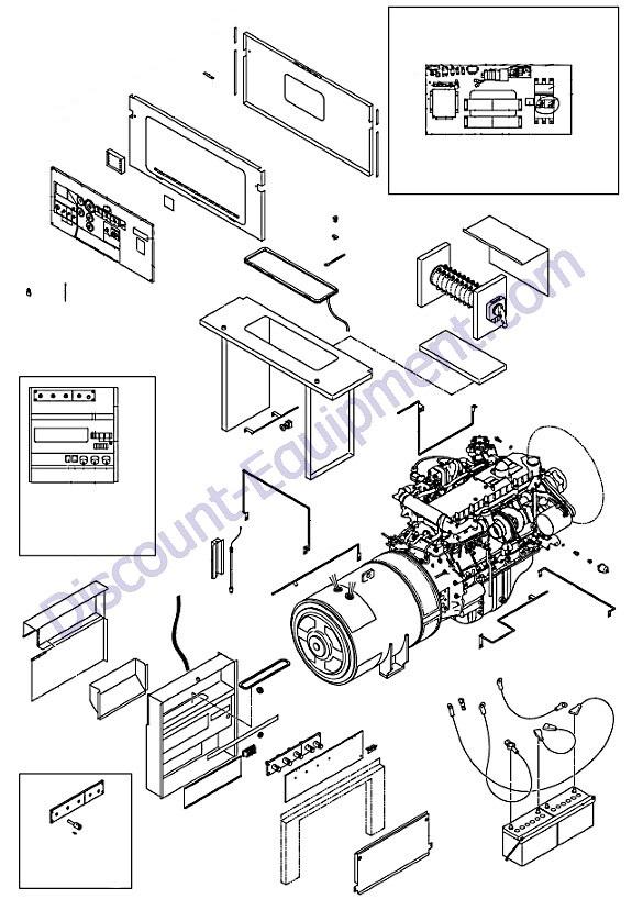 Airman Sdg150s 8b1 Generator Electric