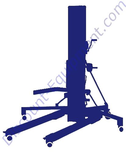 Wanco Portable Light Tower: Discount Equipment Rental