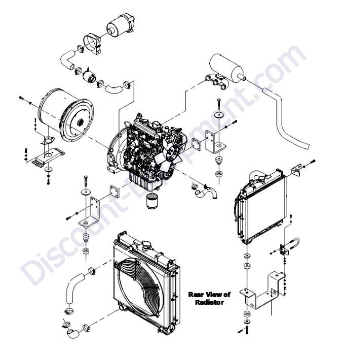Kubota D1105-E3BG Engine - Discount-Equipment com