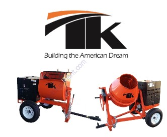 TK Equipment Mortar and Concrete Mixers