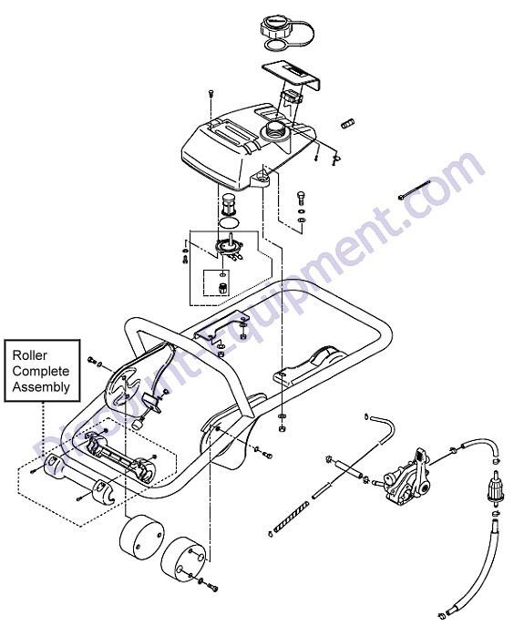 Multiquip 366910042 Fuel Tank MTX HD//SD New w//Decal